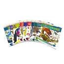 DK Find out Collection 10 Book Set Childrens Pack Dinosaurs, Bugs, Sharks