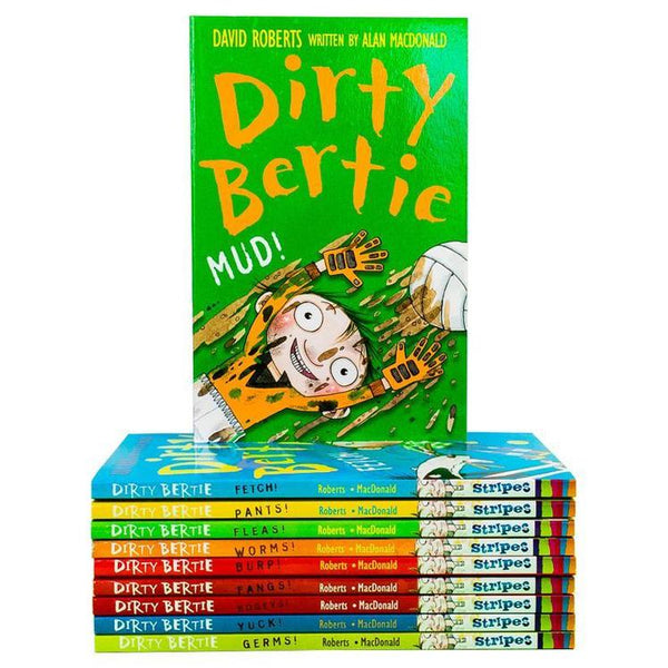 Dirty Bertie Collection 10 Books Set Pack (Series 1) By David Roberts