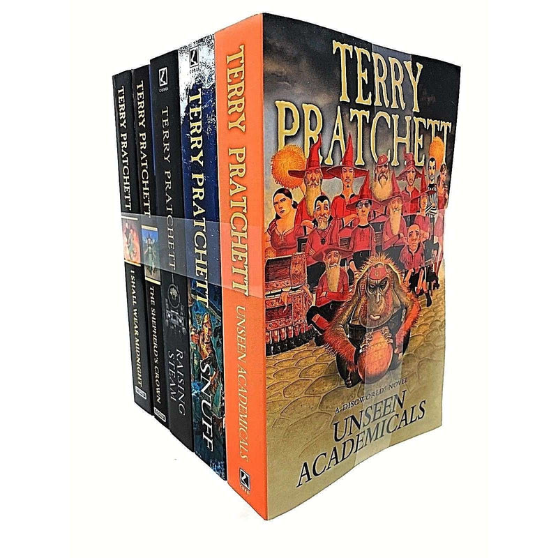 Discworld Novel by Terry Pratchett 5 Books Set Collection (36-40) Series 8