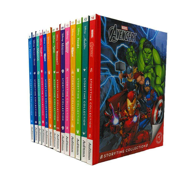 Disney Classics Storytime Collection 14 Books Set, Tangled, Lion King, Avengers