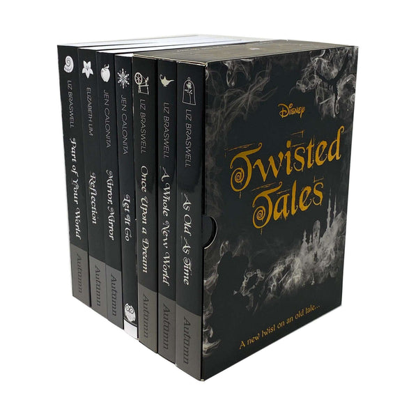 Disney Twisted Tales Collection 7 Books Set Once Upon a Dream, Let it Go, Mirror