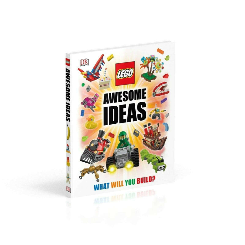 DK Lego Activity Ideas Collection 4 Books Set Collection Play Book, 365 Things Awesome
