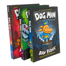 Adventures of Dog Man Series 7 Books Collection Set by Dav Pilkey