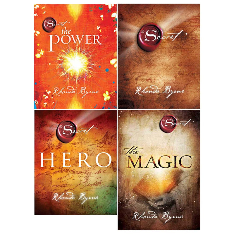 The Secret Series 4 Books Collection Set By Rhonda Byrne