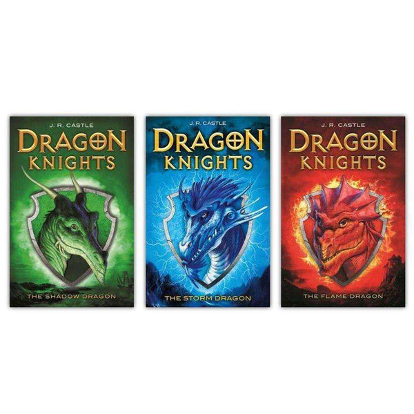 Dragon Knights Series Collection J.R Castle 3 Books Set The Storm Dragon