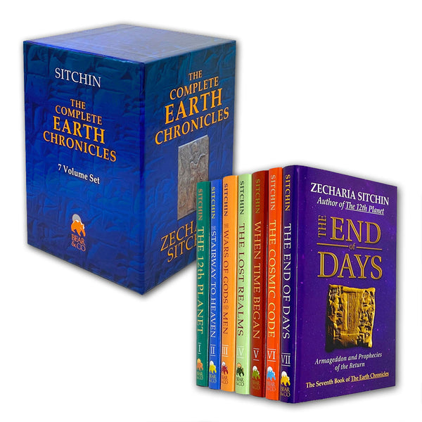 The Complete Earth Chronicles 7 Books Set Collection Zecharia Sitchin