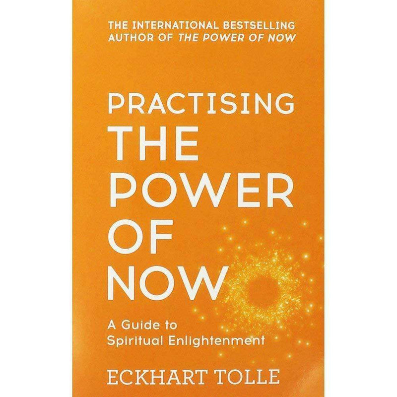Eckhart Tolle 3 Books Collection Set (The Power of Now, Stillness Speaks..)