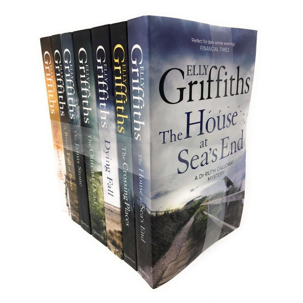 Elly Griffiths 7 Books Set Dr Ruth Galloway mysteries series Collection