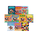 Elmer 10 books Set Collection Children Picture Flats illustrated Elephant David Mckee