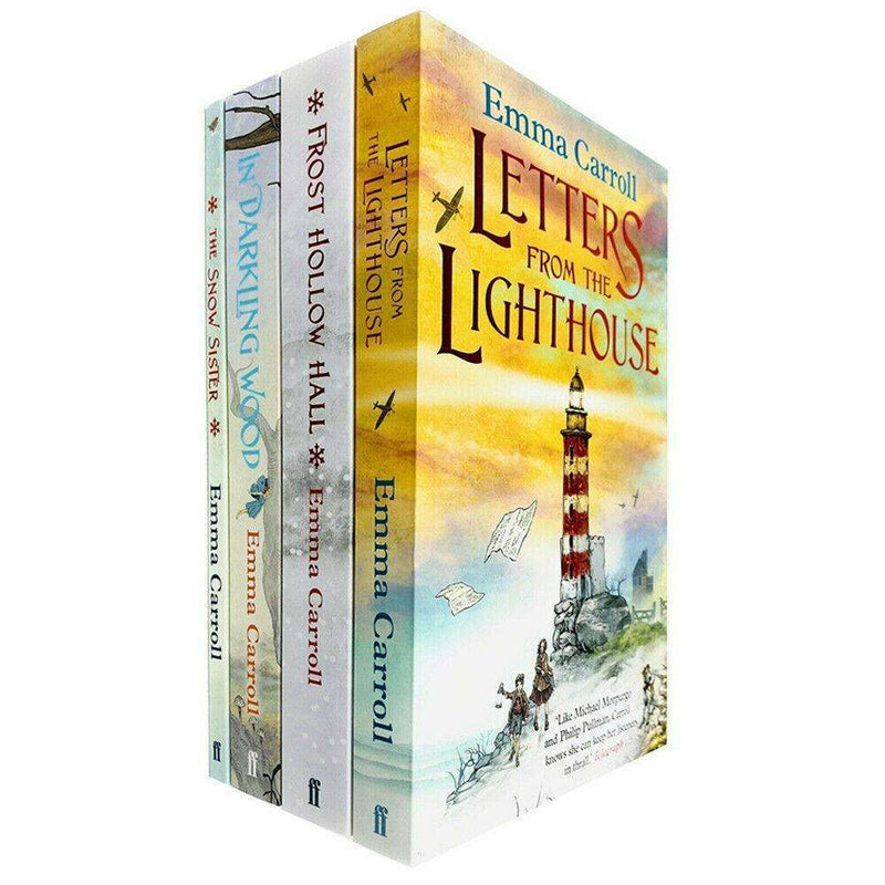 Emma Carroll 4 Books Collection Set (Letters in the Lighthouse..)By Emma Carroll