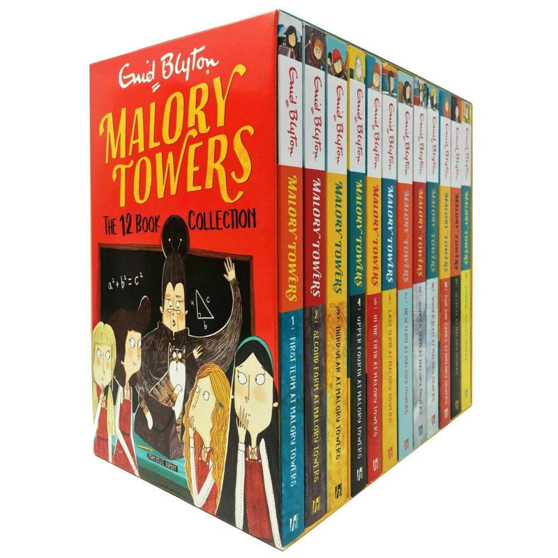 Enid Blyton Malory Towers Complete Collection 12 Books Set Children Pack