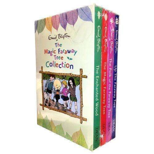 Enid Blyton's The Faraway Tree 4 Books Collection Boxed Set The Magic Faraway