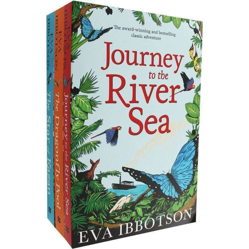 Eva Ibbotson Collection 3 Books Set Journey to the River Sea, Dragonfly Pool