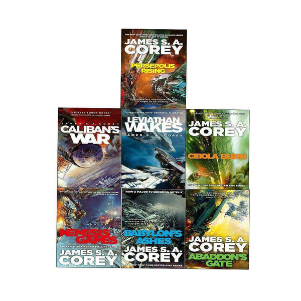 Expanse Series 1-7 Book Set Collection Pack By James S. A. Corey