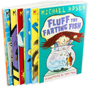 Michael Rosen 6 Books Kids Funny Fun Stories Younger Children Kids