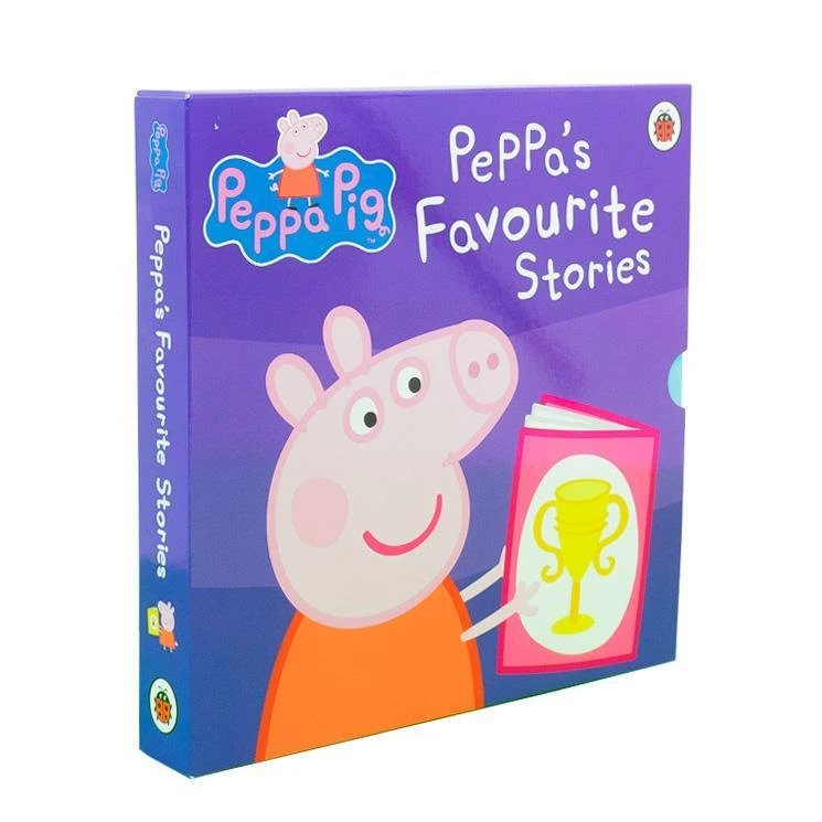 Peppa Pig Favourite Stories 10 Books Slipcase Collection Set Books for Children