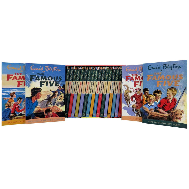 Famous Five 21 Series Books Box Set pack collection By Enid Blyton
