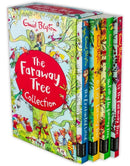 Enid Blyton's The Faraway Tree 4 Magical Books Collection Set The Magic Faraway Tree