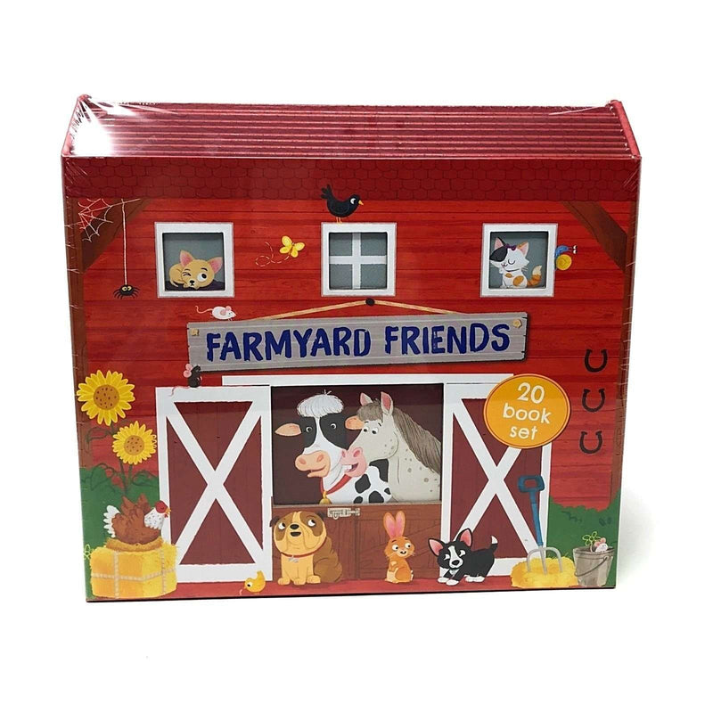 Farmyard Friends 20 Book Set Collection Inc Chicken Licken, Goose On The Loose