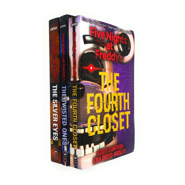 Five Nights at Freddy's 3 Books Collection Set By Scott Cawthon, Kira Breed ..