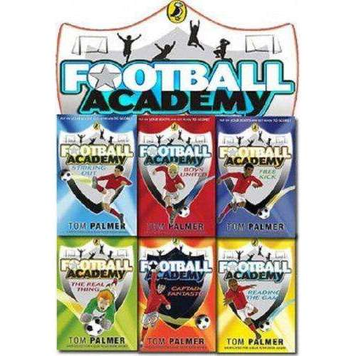 Football Academy Collection 6 Books Set (Striking Out, Reading The Game, The Real Thing, Boys United, Captain Fantastic, Free Kick)