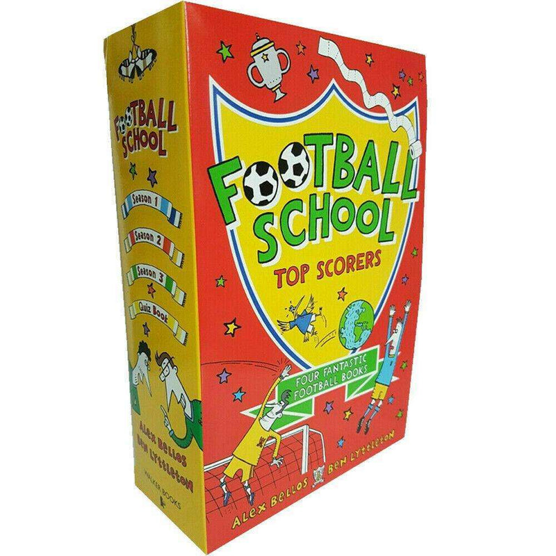 Football School Series Top Scorers 4 Books Collection Box Set Season Pack