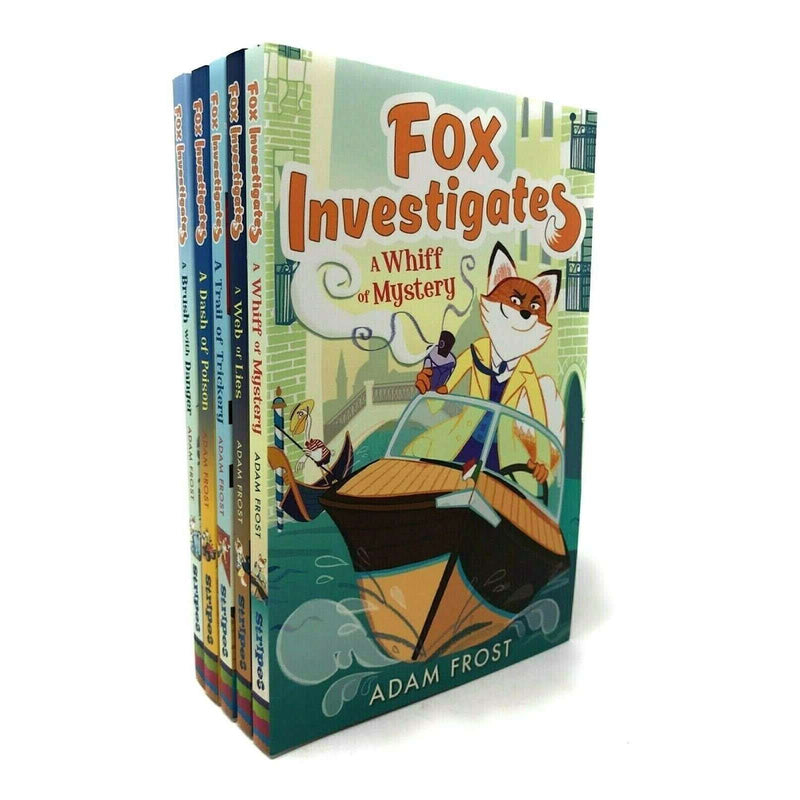 Fox Investigates 5 Book Set Collection By Adam Frost Inc Whiff Of Mystery