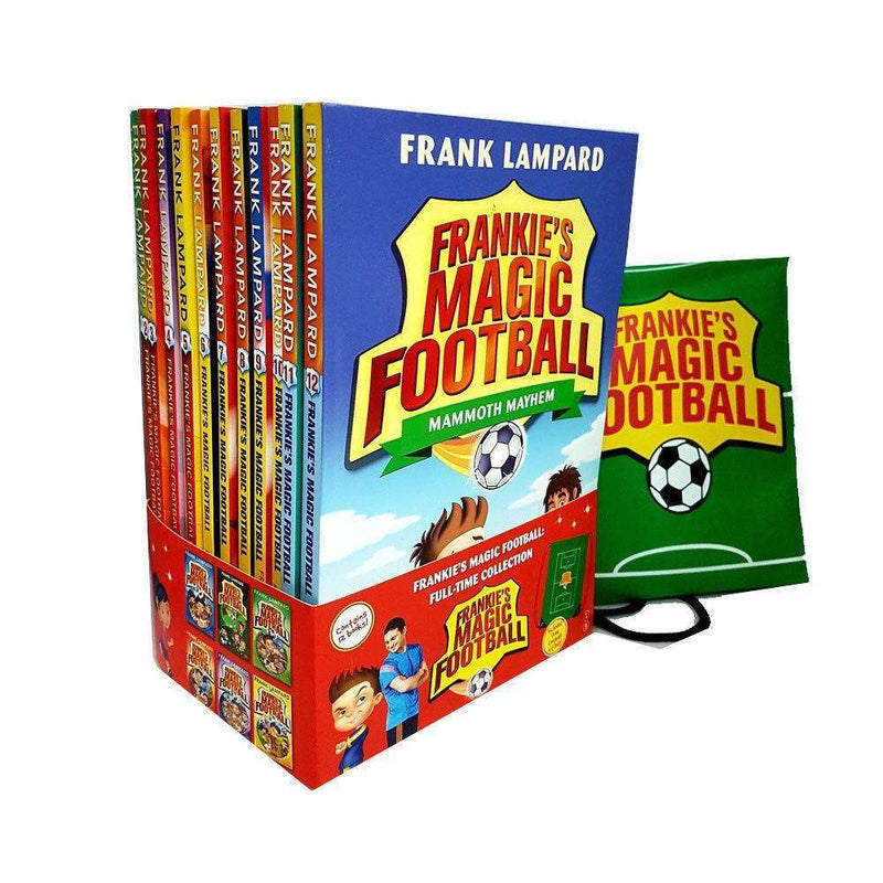 Frankie's Magic Football Collection Frank Lampard 12 Books Set Pack With Bag