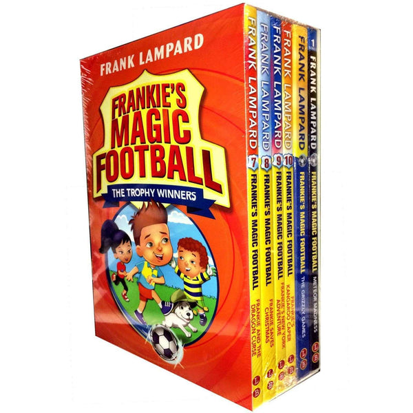 Frankie's Magic Football Series 2 Vol. 7-12 Frank Lampard Collection 6 Books Set Adventure
