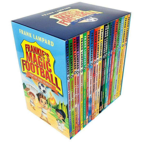 Frankies Magic Football Top Of The League 20 Books Box Set By Frank Lampard