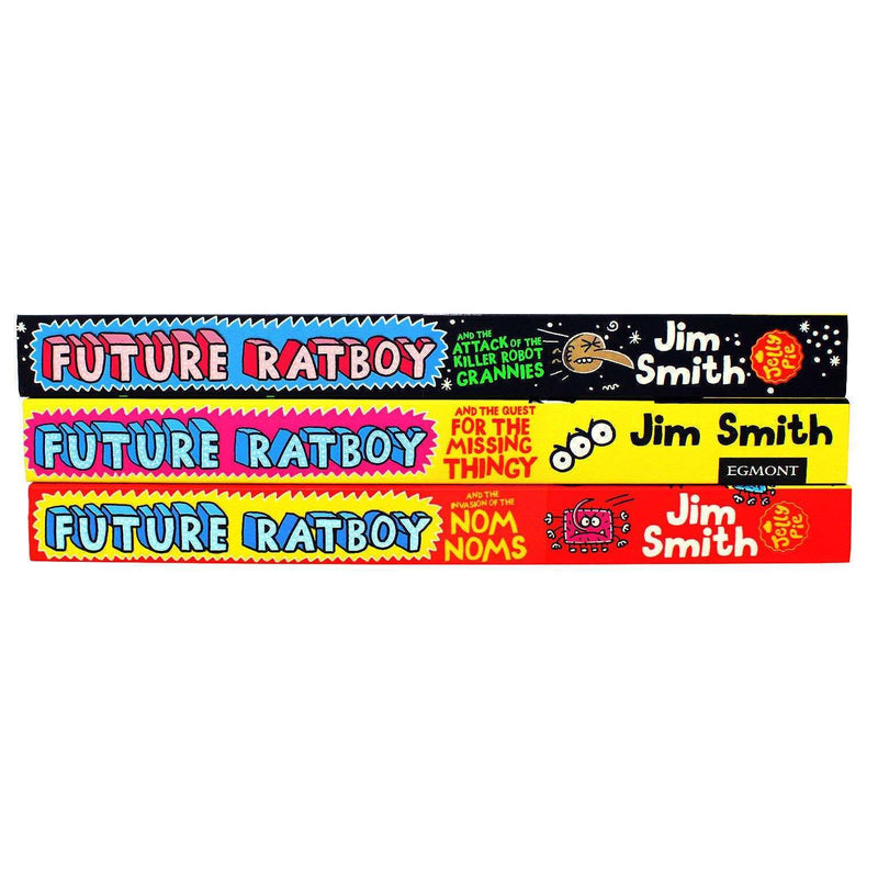 Future Ratboy 3 Books Collection Series Pack Set By Jim Smith