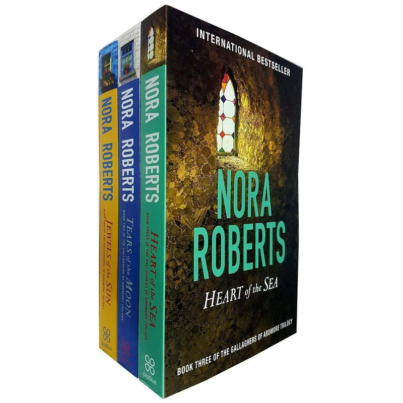 Gallaghers Of Ardmore Series Nora Roberts Collection 3 Books Set