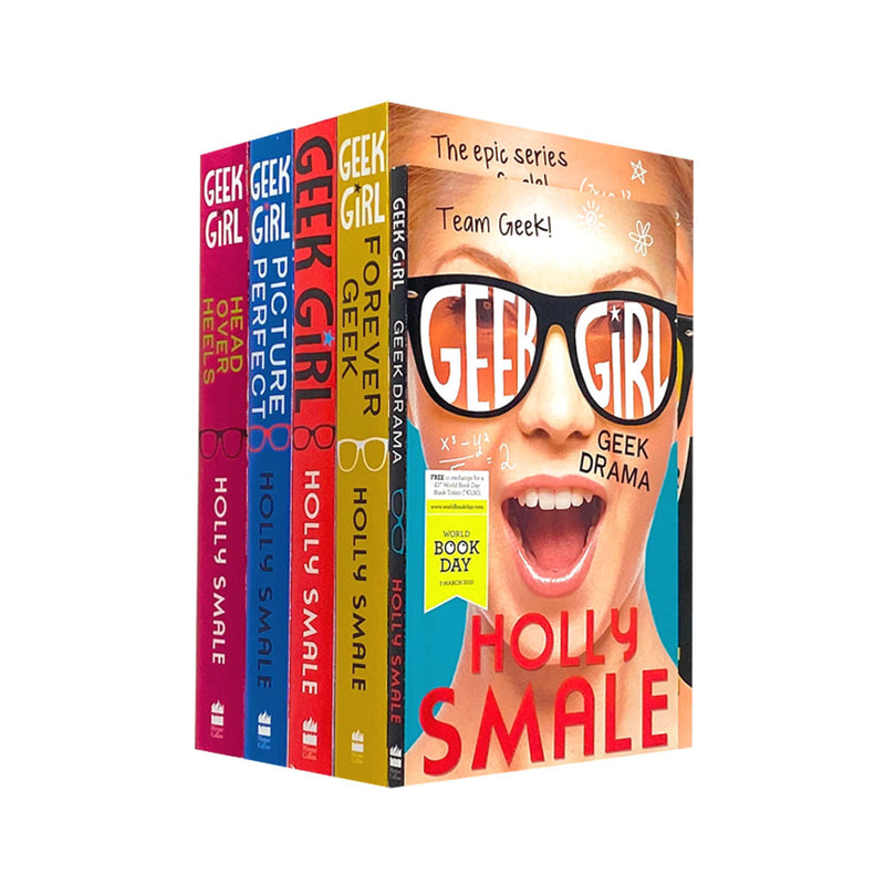 Holly Smale Geek Girl Series 5 Books Collection Set (Geek Girl,Model Misfit)