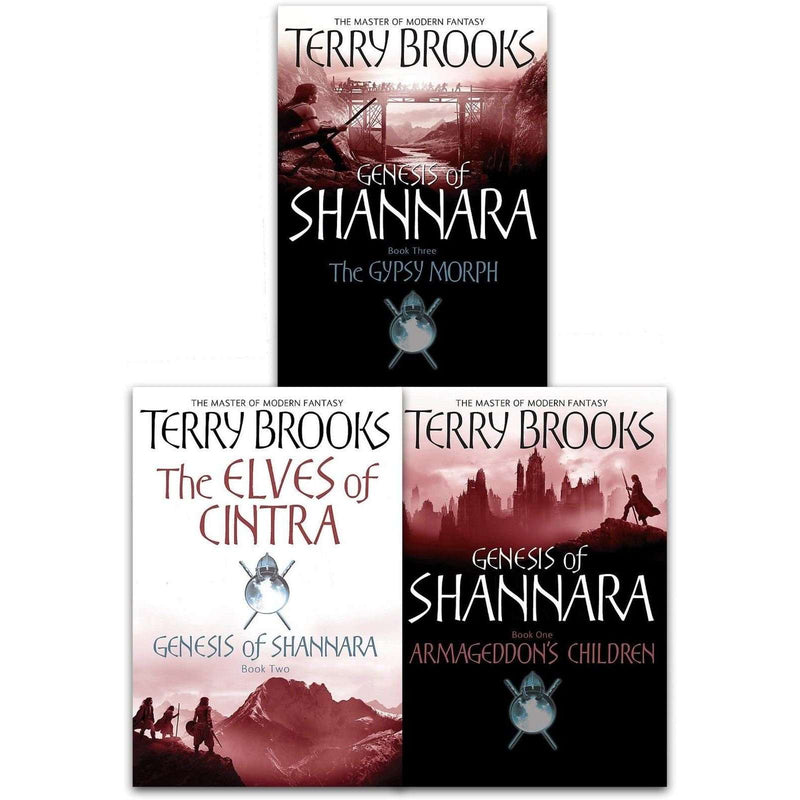 Genesis Of Shannara Series 2 Collection 3 Books Set Terry Brooks