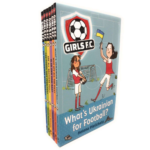 Girls F.C. Collection 6 Books Set Collection Football Goalkeeper Foul Penalty