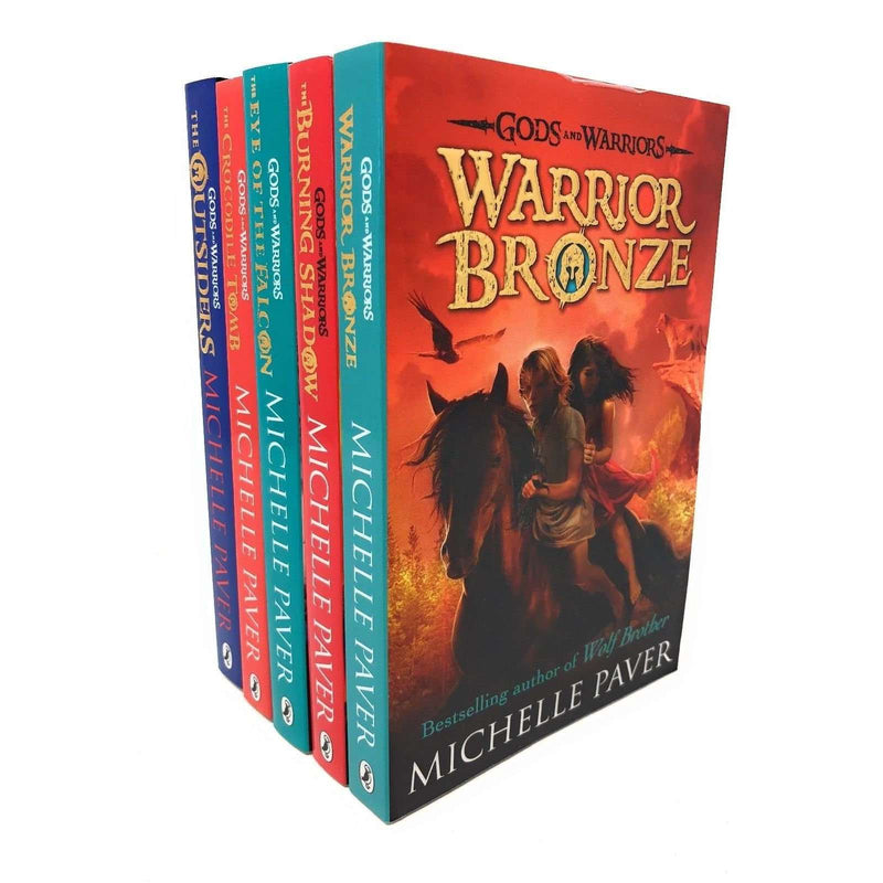 Gods And Warriors 5 Books Set Collection Michelle Paver, Warrior Bronze