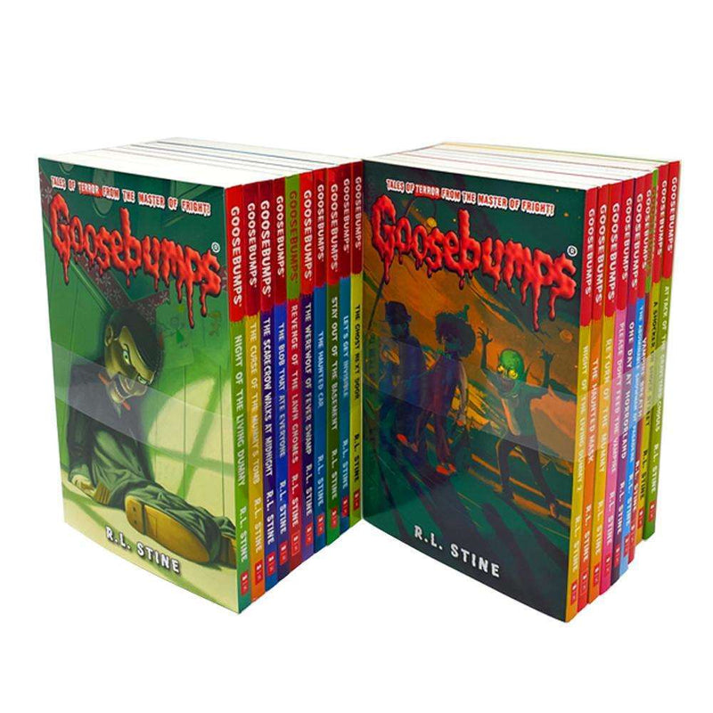 Goosebumps Classic Series 20 Books Set Collection R L Stine