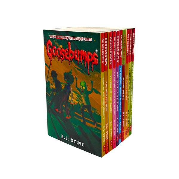 Goosebumps Classic (Series 2) - 10 Books Set Collection R.L. Stine