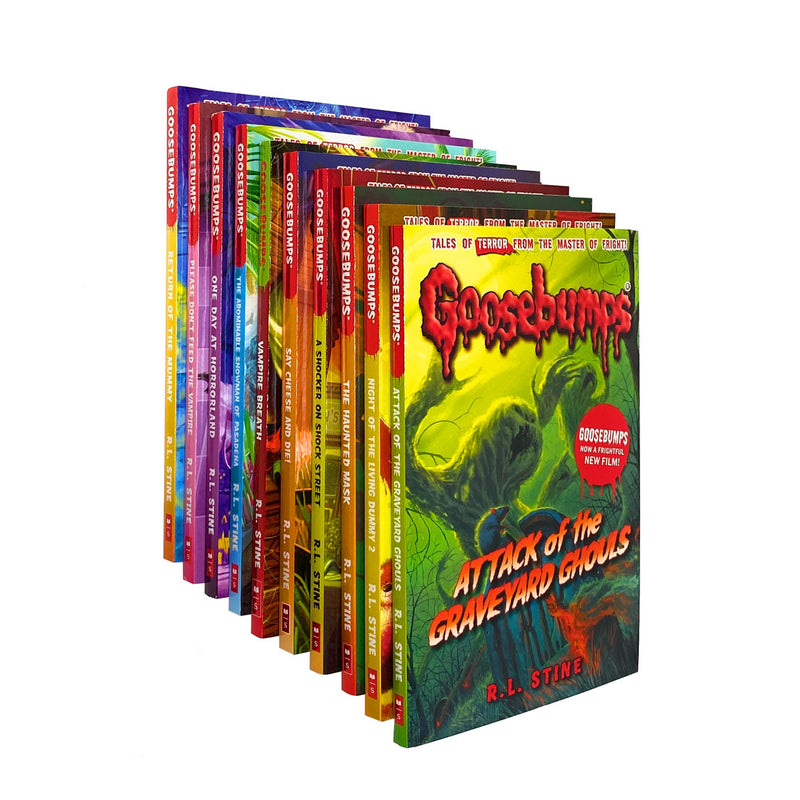 Goosebumps 10 Books Collection Set Series 2 By R.L. Stine