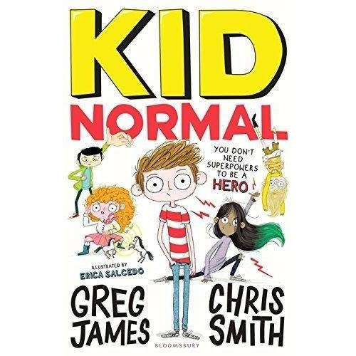 Kid Normal Collection 3 Books Set By Greg James (Kid Normal, The Rogue Heroes, The Shadow Machine)