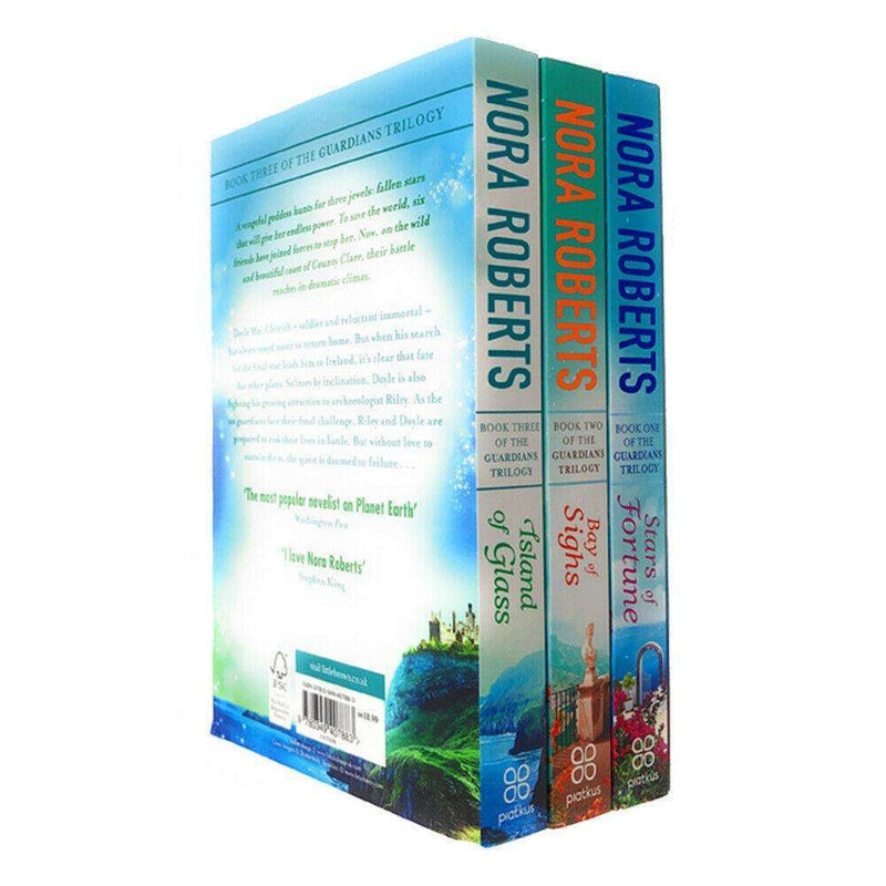 Guardians Trilogy Collection 3 Books Set Pack by Nora Roberts