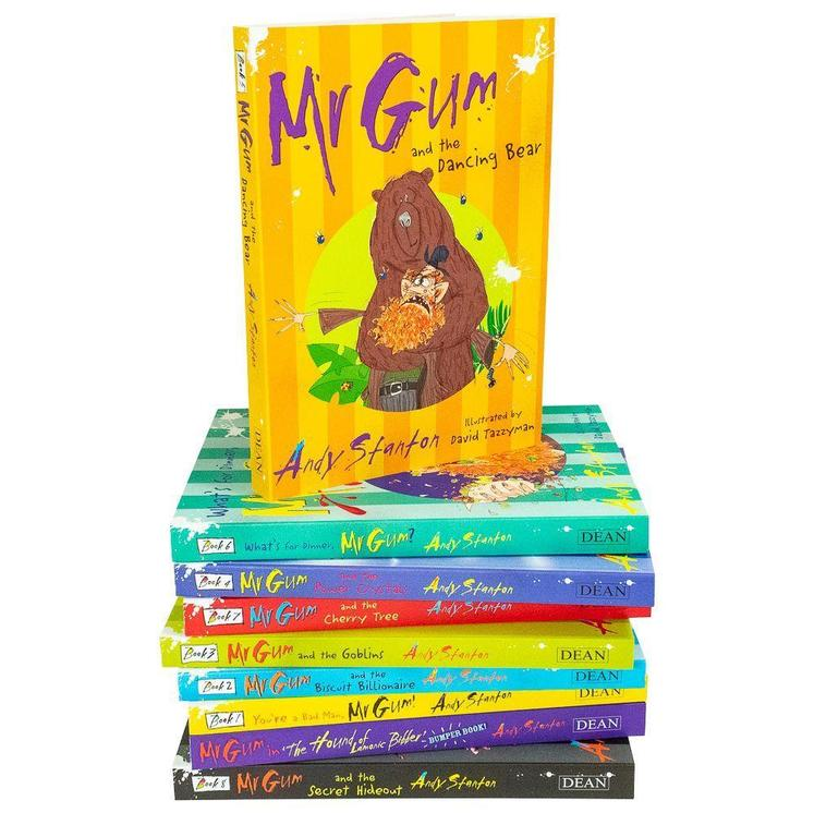 Mr Gum Collection Andy Stanton 8 Book Box Set