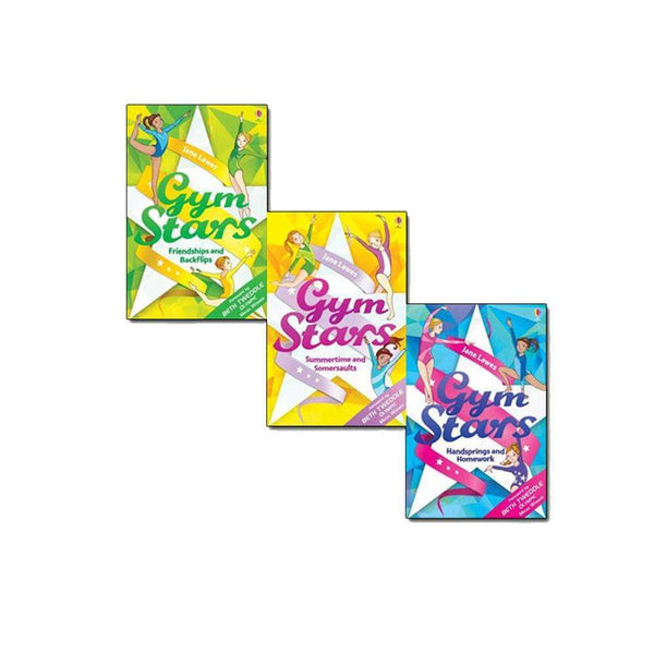 Gym Stars Collection 3 Books Set Pack by Jane Lawes - Friendships and Backflips