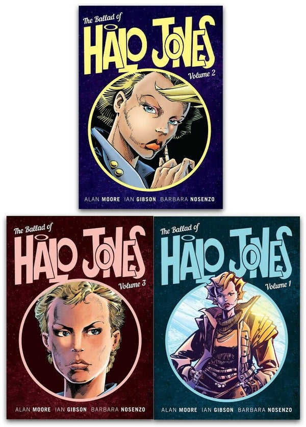 The Ballad of Halo Jones Collection 3 Books Set By Alan Moore (Vol 1-3) Manga