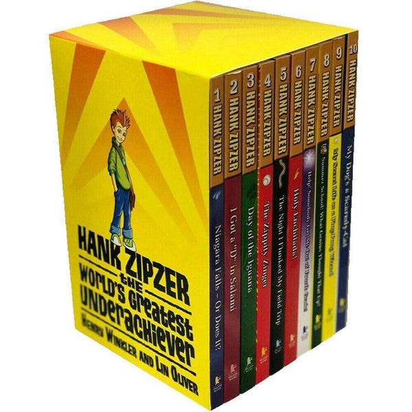 Hank Zipzer 9 Books Collection Box Set Books 1-9 Inc Holy Enchilada