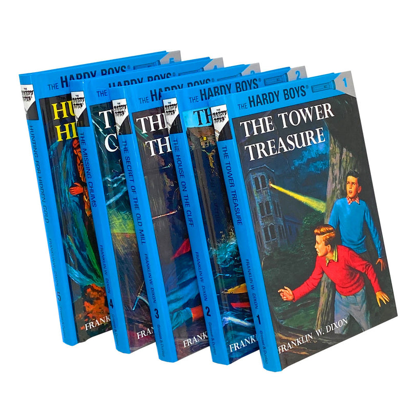 The Hardy Boys Starter Set 5 Books Box Collection By Franklin W. Dixon