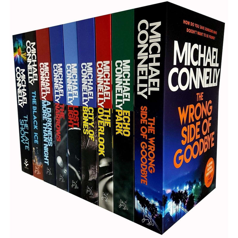 Harry Bosch Series By Michael Connelly 9 Books Collection Set Echo Park Overlook