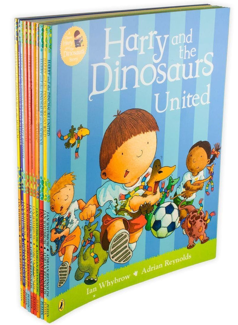 Harry and The Bucketful Of Dinosaurs Collection 10 Book Set By Ian Whybrow