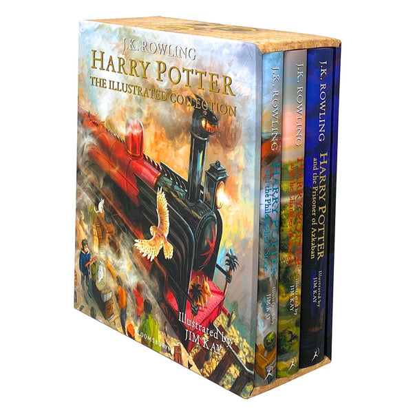 Harry Potter The Illustrated 3 Books Collection Set By J.K.Rowling