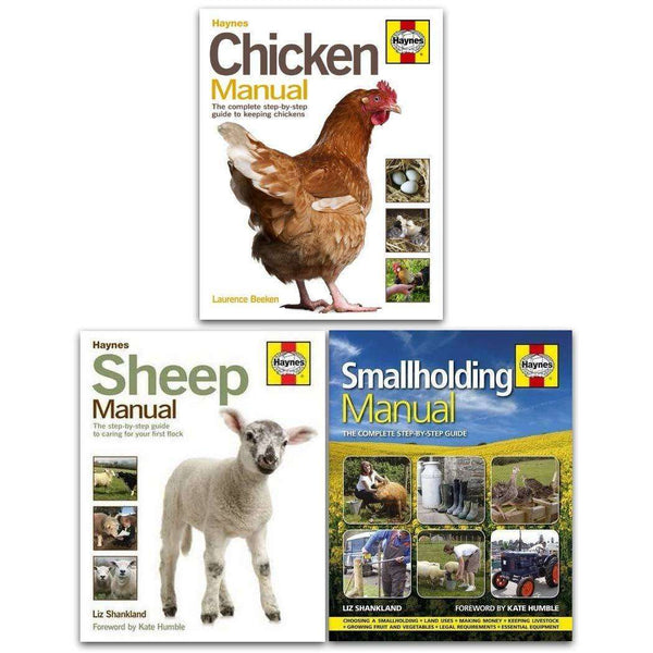 Haynes Farming Manual 3 Books Collection Set Sheep Manual
